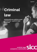 Criminal Law consumer guide